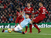 """""""Манчестер Сити"""" впервые проиграл в чемпионате Англии в 23-м туре"""