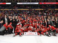 Канадские хоккеисты выиграли молодежный чемпионат мира, россиян к медалям не подпустили