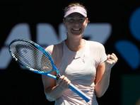 Теннисистка Мария Шарапова уверенно стартовала на Australian Open