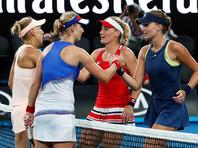 Макарова и Веснина проиграли в финале Открытого чемпионата Австралии по теннису