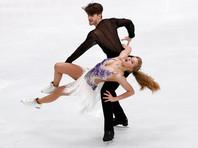 Фигуристы Степанова и Букин идут вторыми после короткого танца на чемпионате Европы