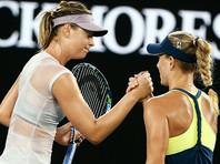 Мария Шарапова уступила Анжелике Кербер в третьем круге Australian Open