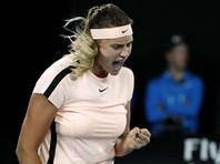 Зрители Australian Open поиздевались над стонущей белорусской теннисисткой