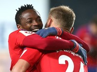 Форвард сборной Нигерии по футболу Ахмед Муса вернулся в ЦСКА