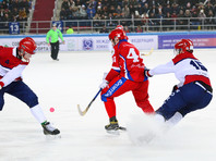 Россияне победно стартовали на чемпионате мира по хоккею с мячом