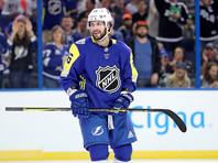 Никита Кучеров сделал хет-трик в Матче звезд Национальной хоккейной лиги