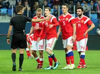 Сборная России обошла в рейтинге ФИФА одного из соперников по ЧМ-2018
