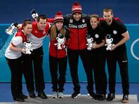 Соревнования среди смешанных пар в керлинге впервые представлены на Олимпийских играх. Ранее бронза в этой дисциплине досталась эффектноой паре из России в составе Анастасии Брызгаловой и Александра Крушельницкого