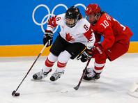 Хоккеистки сборной России со счетом 0:5 уступили команде Канады в полуфинальном матче женского олимпийского турнира
