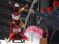 Немецкие саночники вновь победили в соревнованиях двоек на Олимпиаде