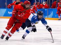Первую шайбу команды на олимпийском турнире на 45-й минуте забросила Анна Шохина. Увы, этот гол так и остался единственным до финальной сирены
