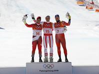 Австриец Маттиас Майер выиграл олимпийские соревнования в супергиганте