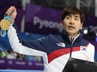 Ли Сын Хун из Южной Кореи выиграл конькобежный масс-старт на Олимпиаде-2018