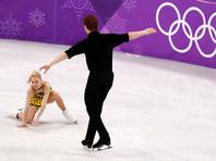 Тарасова и Морозов катали произвольную программу последними, но, с сожалению, допустили ряд серьезных ошибок