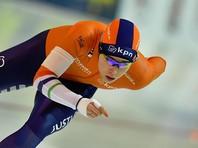 Конькобежки из Нидерландов заняли весь пьедестал после забега на 3000 метров