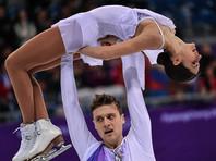 Фигуристы Забияко и Энберт показали третий результат в произвольной программе олимпийского командного турнира