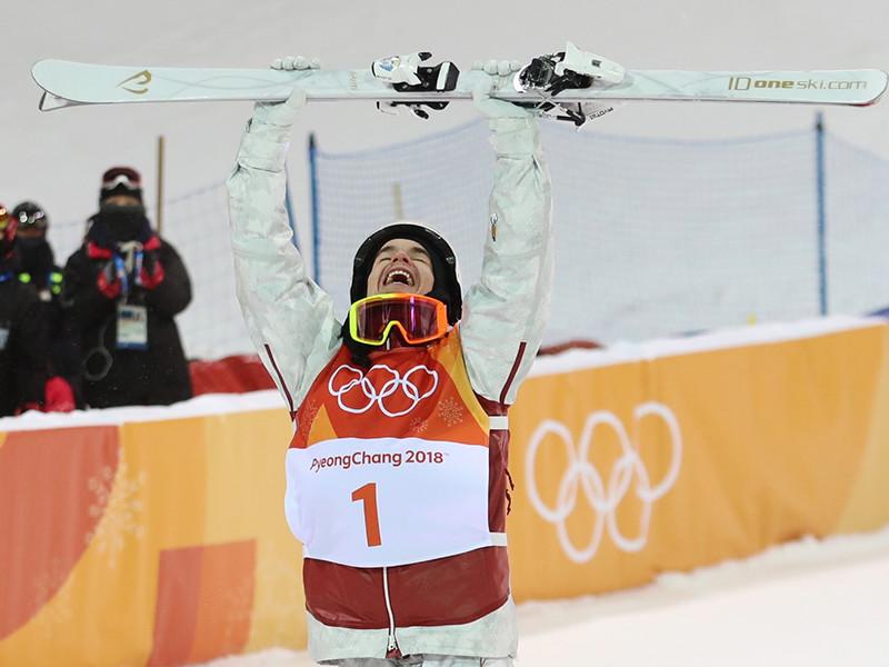 Канадец Микаэль Кингсбери стал олимпийский чемпионом в могуле