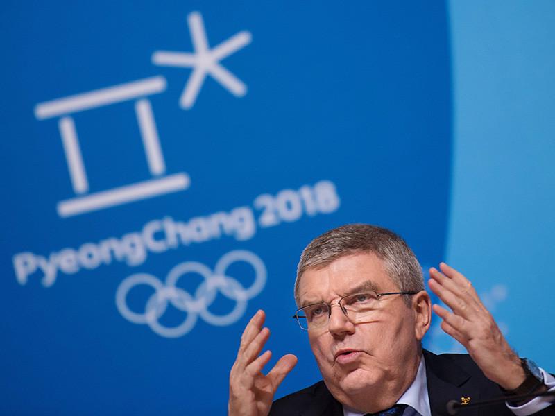 Россия после Олимпиады в Пхенчхане потребует отставки президента МОК Томаса Баха