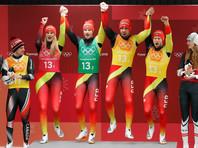Саночники принесли Германии девятую золотую медаль Олимпиады в Пхенчхане