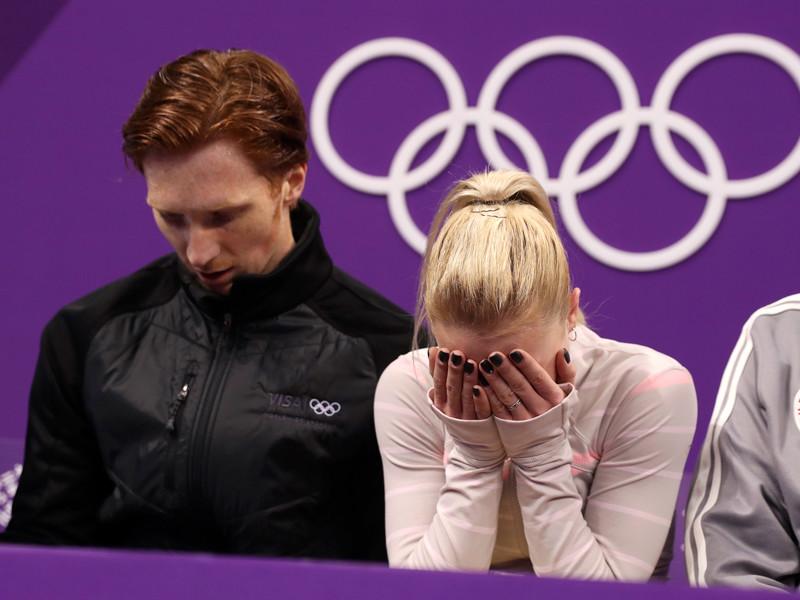 В Пхенчхане завершились состязания спортивных пар в рамках олимпийского турнира фигуристов. Россияне Евгения Тарасова и Владимир Морозов сумели занять в нем только четвертое место