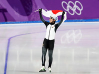 Конькобежка Нана Такаги из Японии стала первой олимпийской чемпионкой в масс-старте