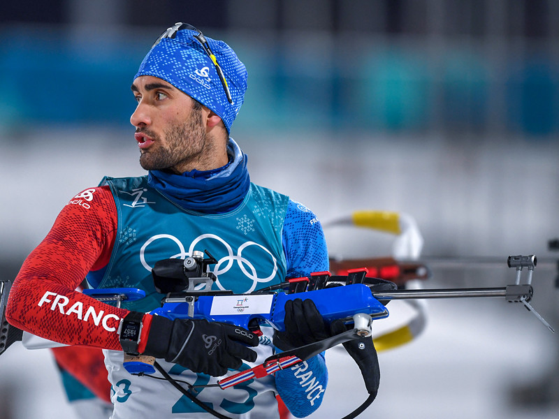 Французский биатлонист Мартен Фуркад стал четырехкратным олимпийским чемпионом, победив в гонке с общего старта на 15 км на Играх в Пхенчхане