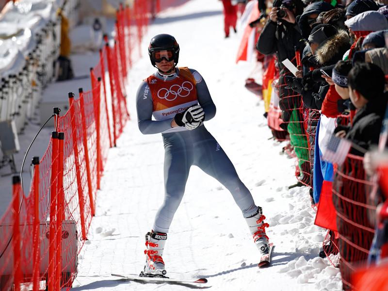 Российский горнолыжник избежал травм после жесткого падения на олимпийской трассе