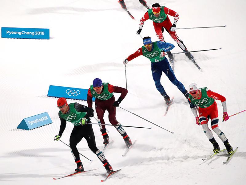 Лыжники Спицов и Большунов добыли для России серебро в командном спринте