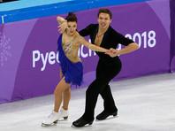 Олимпийские танцы на льду: шестое место Бобровой и Соловьева и конфуз с платьем