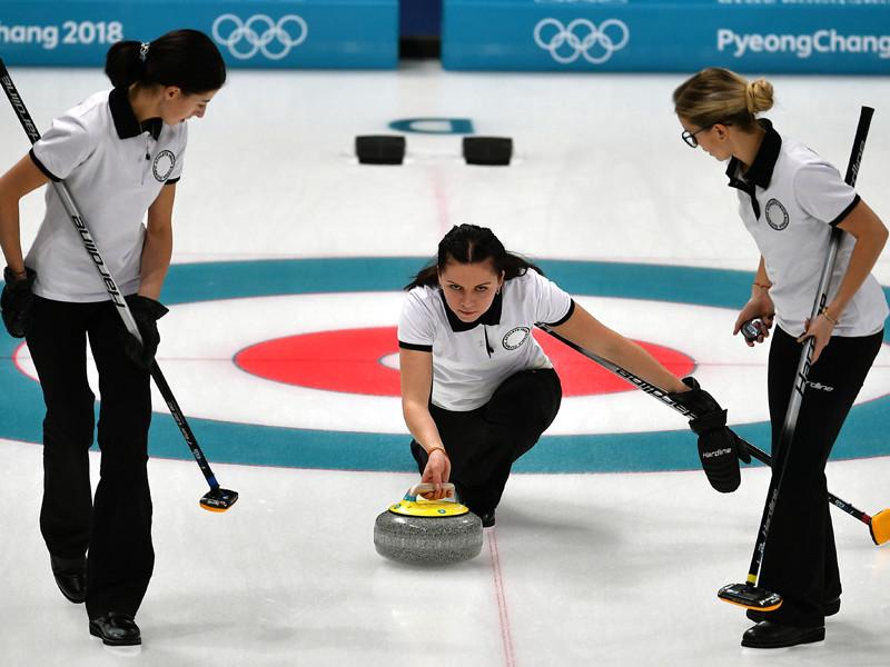 Российские керлингистки потерпели второе поражение на Олимпиаде