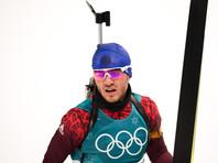 Побег российского биатлониста после финиша гонки объяснили сильным морозом