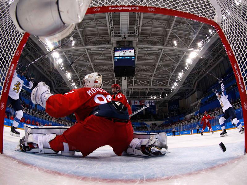 В заключительном круге группового олимпийского турнира россиянки уступили соперницам из Финляндии - 1:5