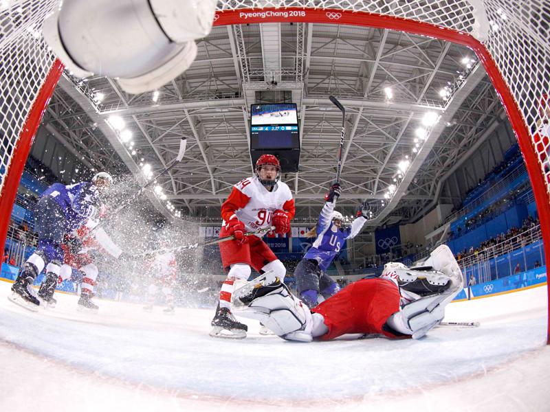 Хоккеистки сборной России крупно проиграли команде США в олимпийском турнире