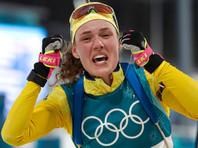 Шведская биатлонистка Ханна Эберг прервала олимпийскую гегемонию Дальмайер