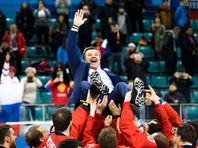 Олега Знарка хотят оставить у руля сборной России по хоккею еще на четыре года
