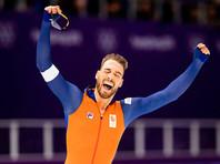 Голландский конькобежец Кьелд Нейс стал двукратным олимпийским чемпионом