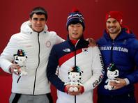 Скелетонист Никита Трегубов принес России второе серебро Олимпиады в Пхенчхане