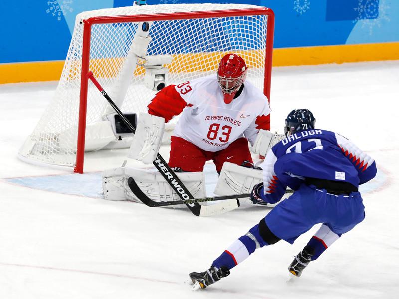 Мужская сборная России по хоккею неудачно стартовала на групповом этапе олимпийского турнира в Пхенчхане