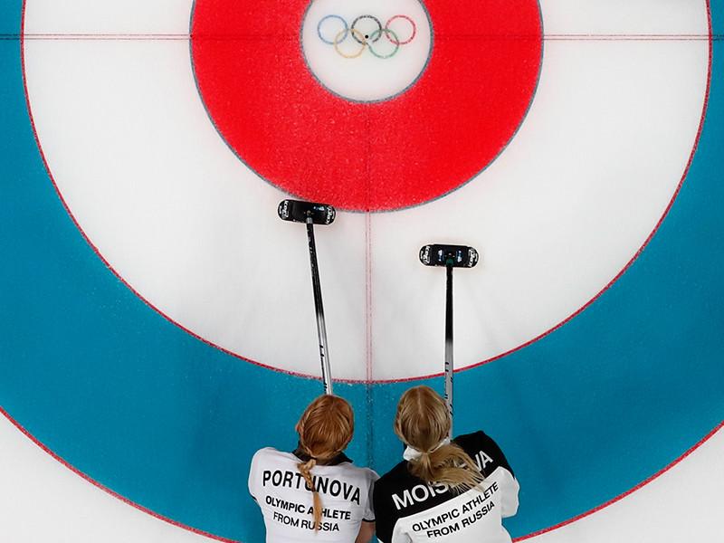 Женская сборная России под началом скипа Виктории Моисеевой одержала свою вторую победу на олимпийском турнире по керлингу в Пхенчхане, обыграв в седьмом раунде предварительных соревнований соперниц из Дании со счетом 8:7