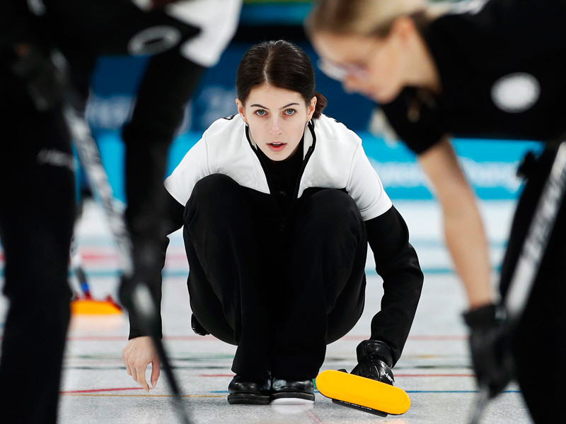 Российские керлингистки уступили американкам в матче олимпийского турнира