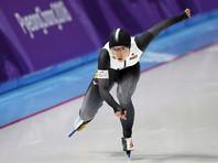 Конькобежка из Японии Нао Кодайра победила на дистанции 500 метров с олимпийским рекордом