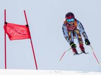 Горнолыжница Ледецкая победила в супергиганте на Олимпиаде  в Пхенчхане