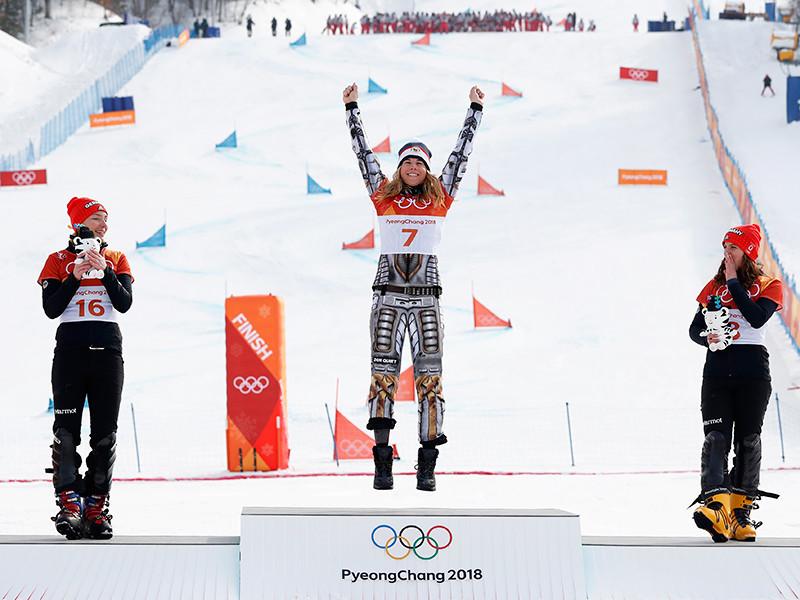 Чемпионка Олимпиады-2018 в горнолыжном спорте выиграла золото Игр в сноуборде
