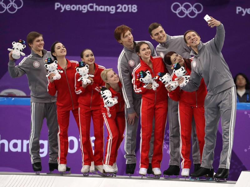 Российские фигуристы добыли серебро олимпийского командного турнира