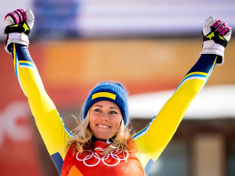 Шведка Фрида Хансдоттер победила в Пхенчхане в горнолыжном слаломе