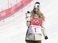 Австрийская сноубордистка Анна Гассер завоевала золото Игр-2018 в биг-эйре
