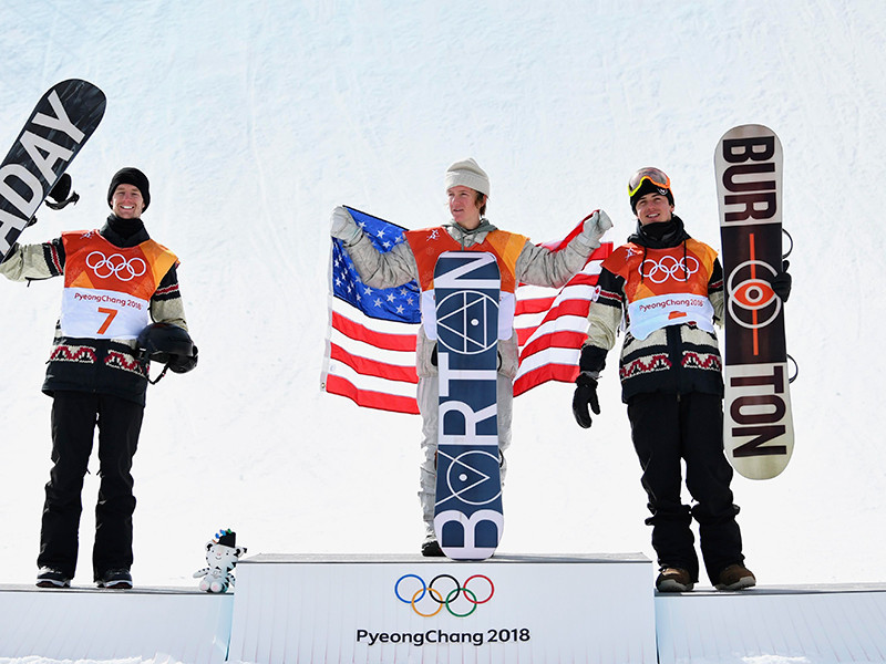 Американский сноубордист Редмонд Джерард стал чемпионом Олимпийских игр в Пхенчхане в дисциплине слоупстайл