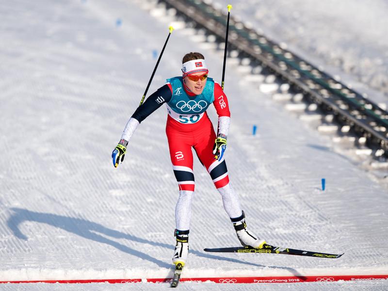Норвежская лыжница Рагниль Хага преподнесла сюрприз в олимпийской гонке на 10 километров