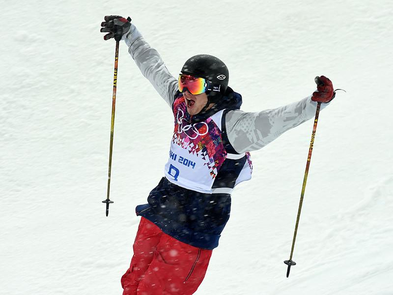 Американец Дэвид Уайз - двукратный олимпийский чемпион в лыжном хафпайпе