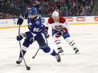 Кучеров продолжает лидировать в списке бомбардиров НХЛ, снайпера Овечкина догнал 19-летний Лайне